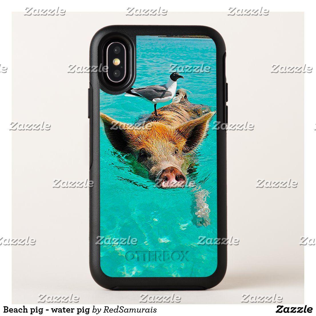 Beach pig – water pig OtterBox iPhone case | Zazzle.com – Phone Cases