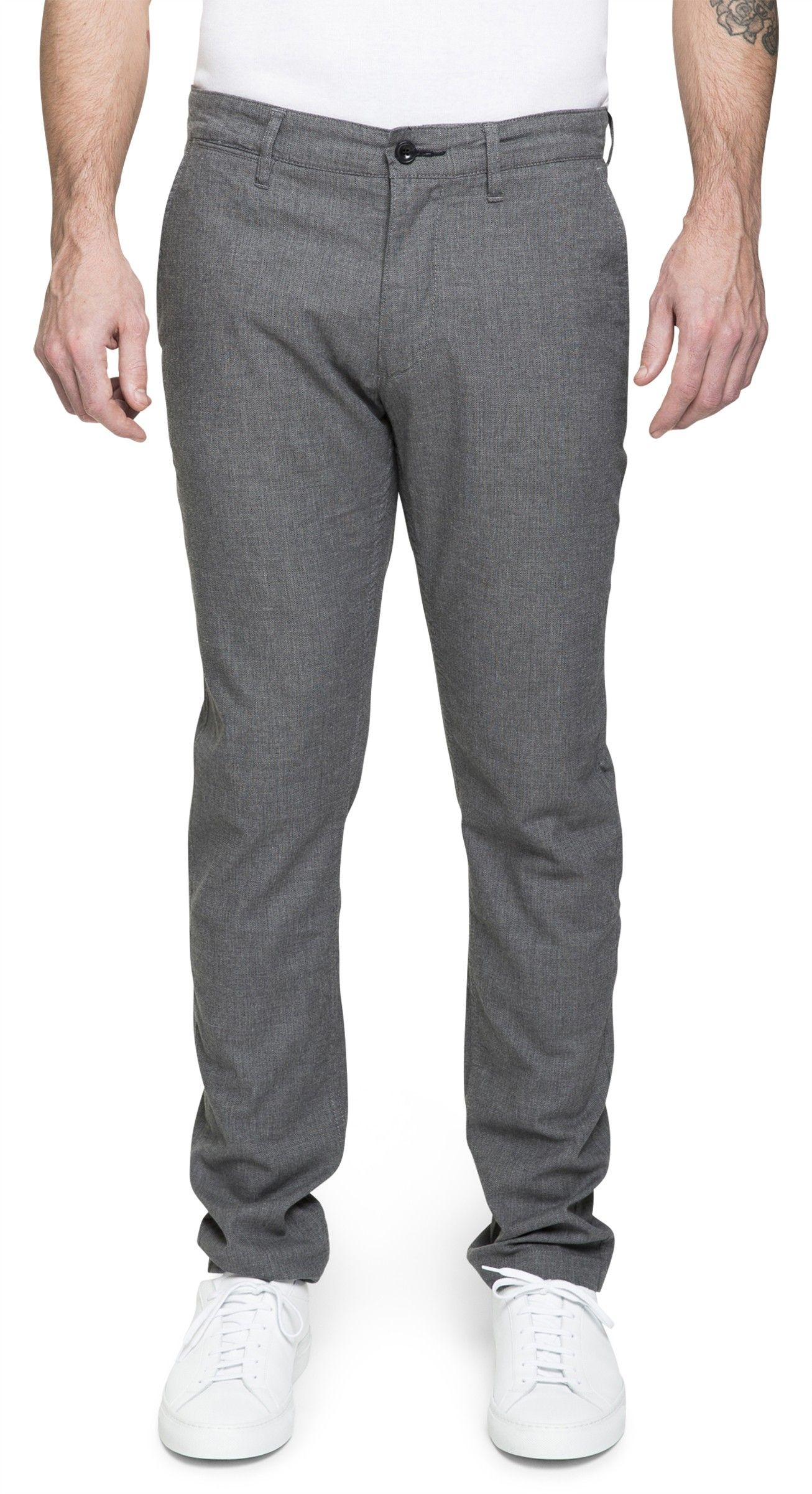 Chinos & Trousers Marco 1153 Grey