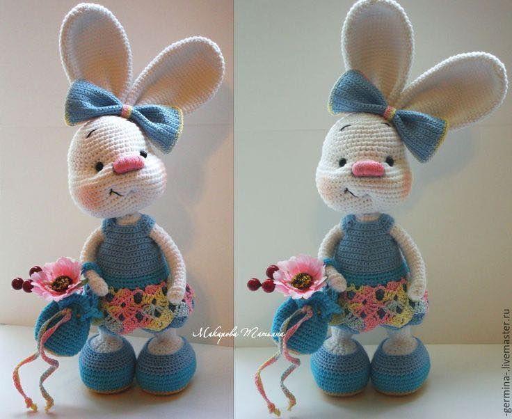 Amigurumis Conejos Paso A Paso : Conejitos a crochet bunny paso a paso u aprende con genesis