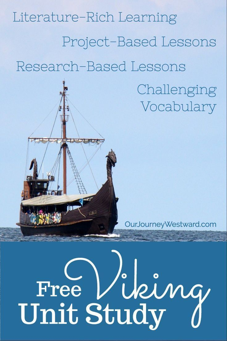 Photo of Your Kids Will Love This Quick Viking Unit Study