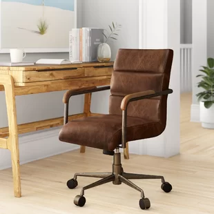 Genuine Leather Office Chairs You Ll Love In 2020 Wayfair In 2020 Conference Chairs Furniture Leather Office Chair