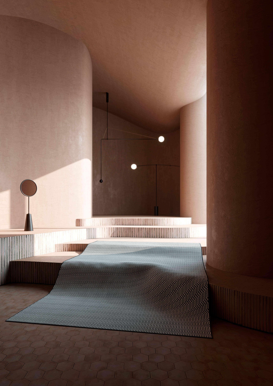 3d Room Interior Design: PATTERNE // CARPET COLLECTION On Behance