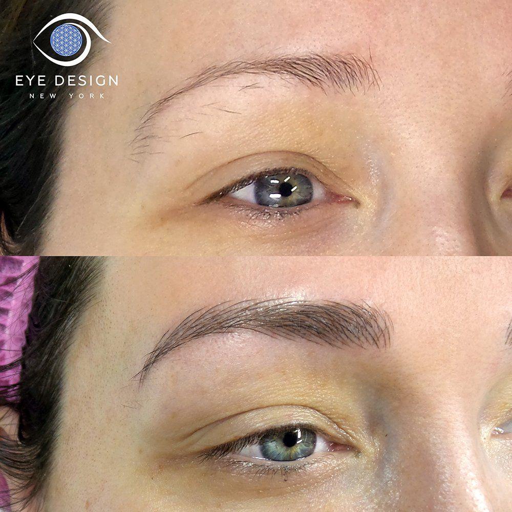 Photo Of Eye Design Studio New York Ny United States Eyebrow Design Microblading Eyebrows Eye Design