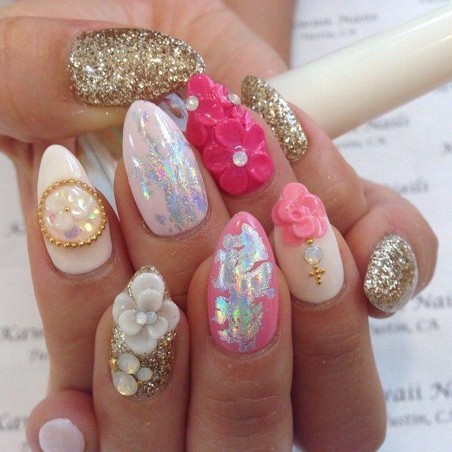 Pin by Angel Cobb on Nails | Pinterest | Kawaii nails, Nail envy and ...