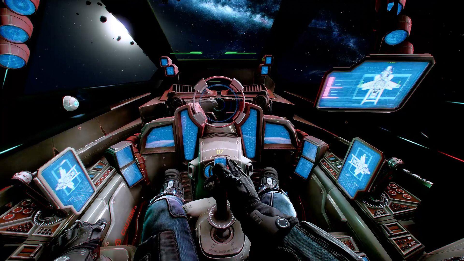 Hornet cockpit in eve sci fi pinterest google search for 3d room simulator
