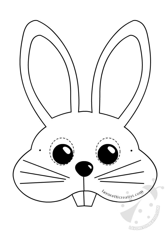 Maschere di animali per bambini da stampare e ritagliare for Immagini maschere carnevale da colorare