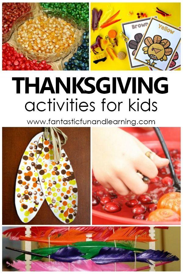 Thanksgiving Theme Preschool Activities - Fantastic Fun & Learning