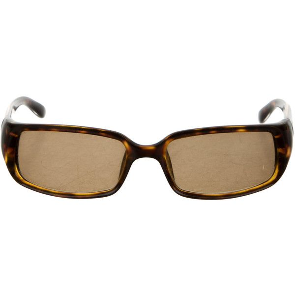 Pre-owned Gucci Tortoiseshell Gradient Lens Sunglasses ($50) ❤ liked on Polyvore featuring accessories, eyewear, sunglasses, brown glasses, gucci, gucci glasses, brown tortoise shell glasses and tortoise shell sunglasses