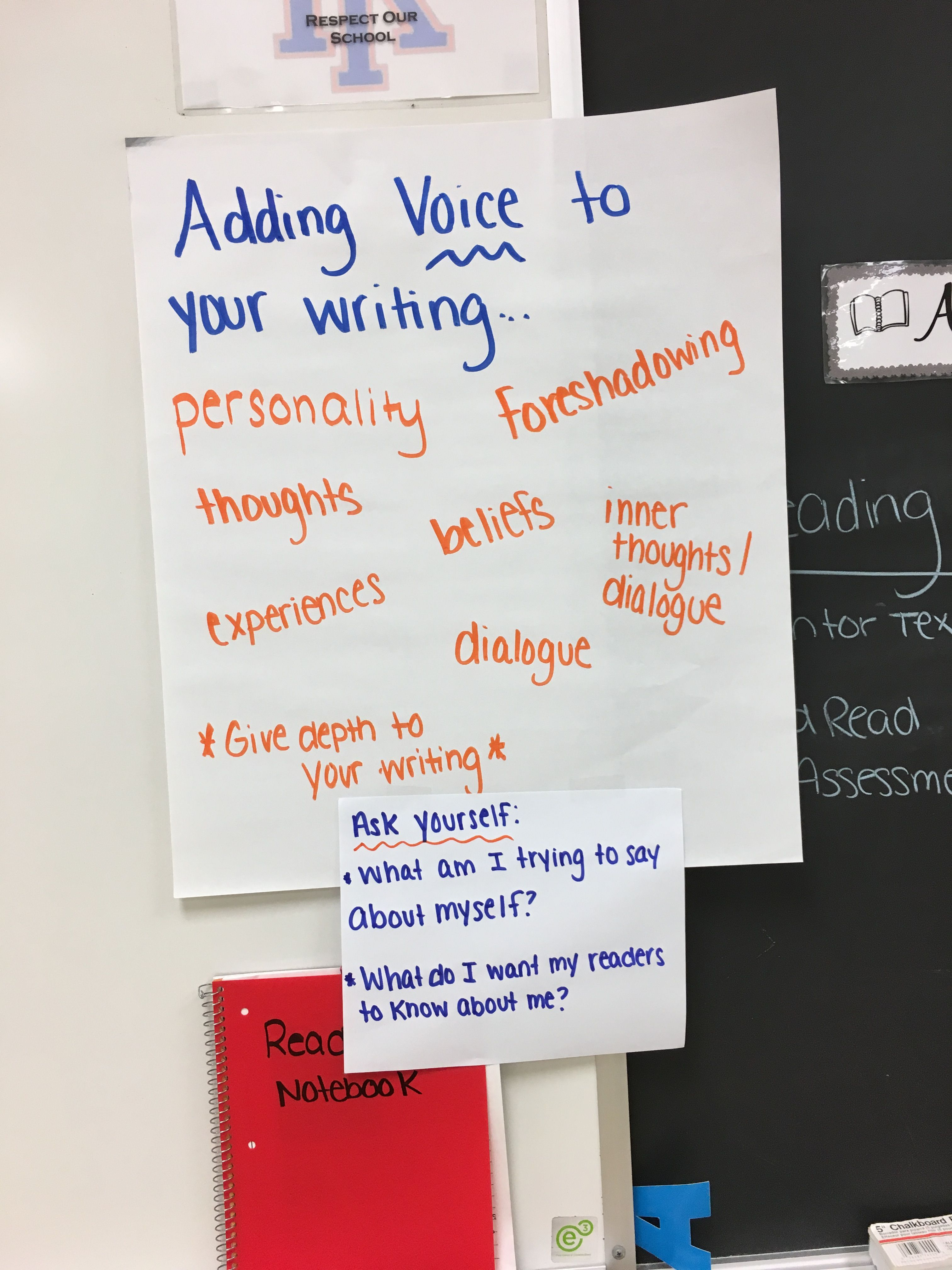 Add Voice To Your Writing