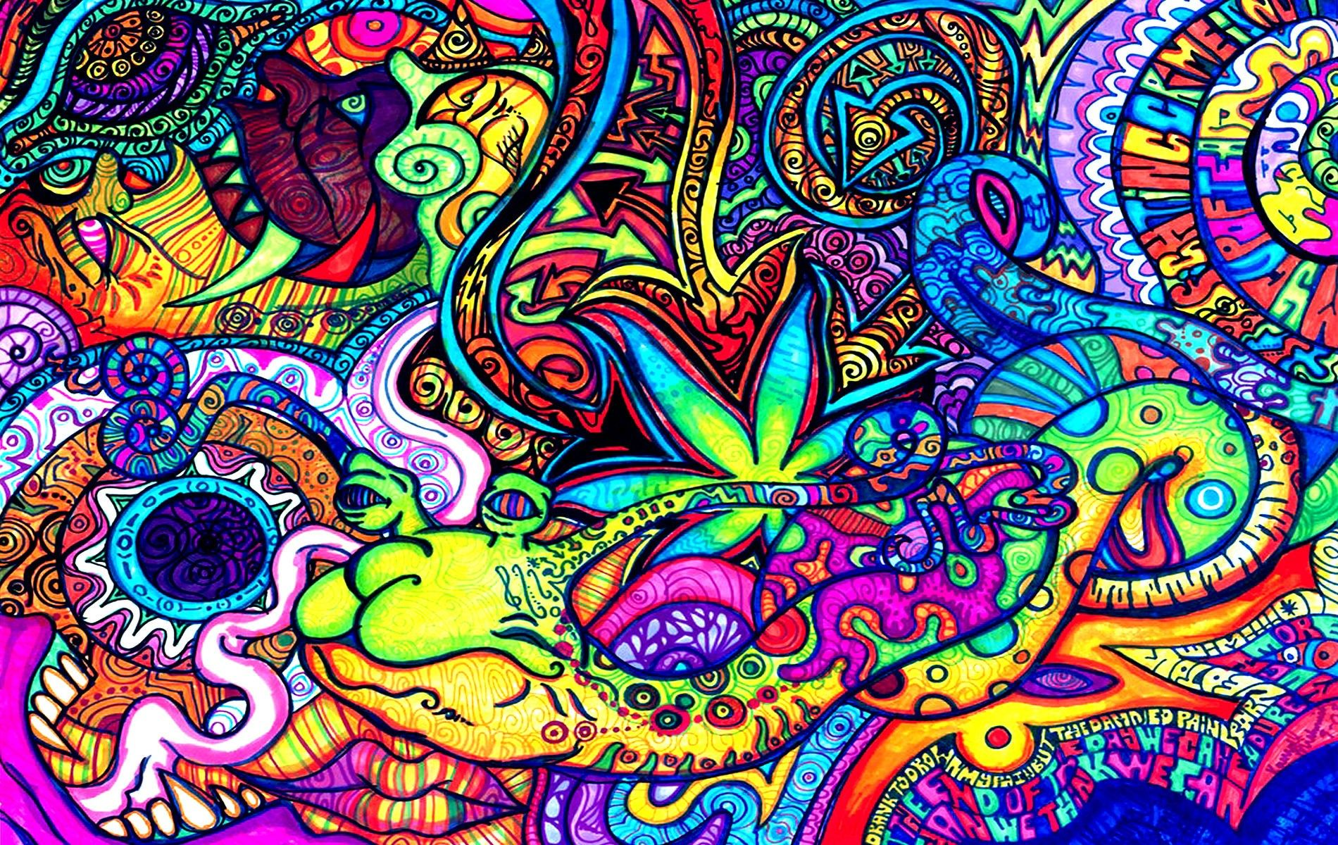1900 x 1200 px psychedelic image for mac computers by Garwood Bishop