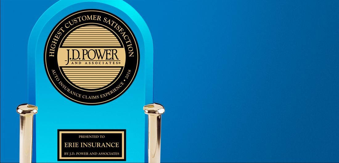 Erie Earns Top Spot In J D Power Auto Claims Study Erie