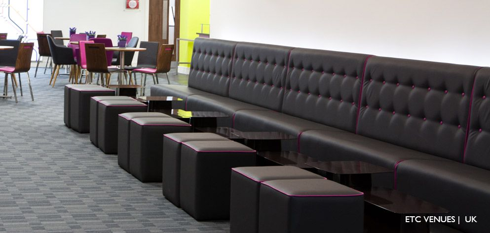 Our Black Banquette Seating In A Conference Centre Banquette Contract Conference Blackseating Restaurant Furniture Contract Furniture Furniture