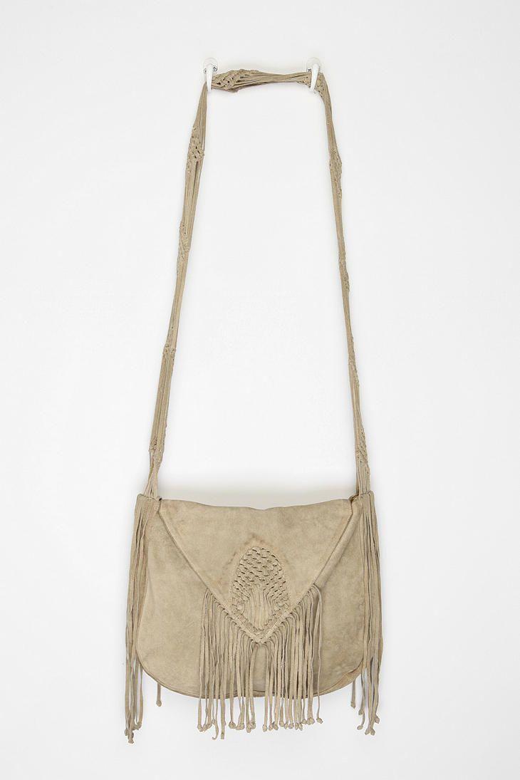 2244f64c9 fringe. Ecote Suede Woven Hobo Bag #UrbanOutfitters Fringe Purse ...