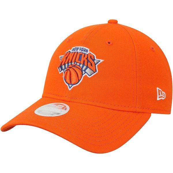 44ac5d90326 New York Knicks New Era Women s Team Core Classic 9TWENTY Adjustable Hat  Orange  NewYorkKnicks