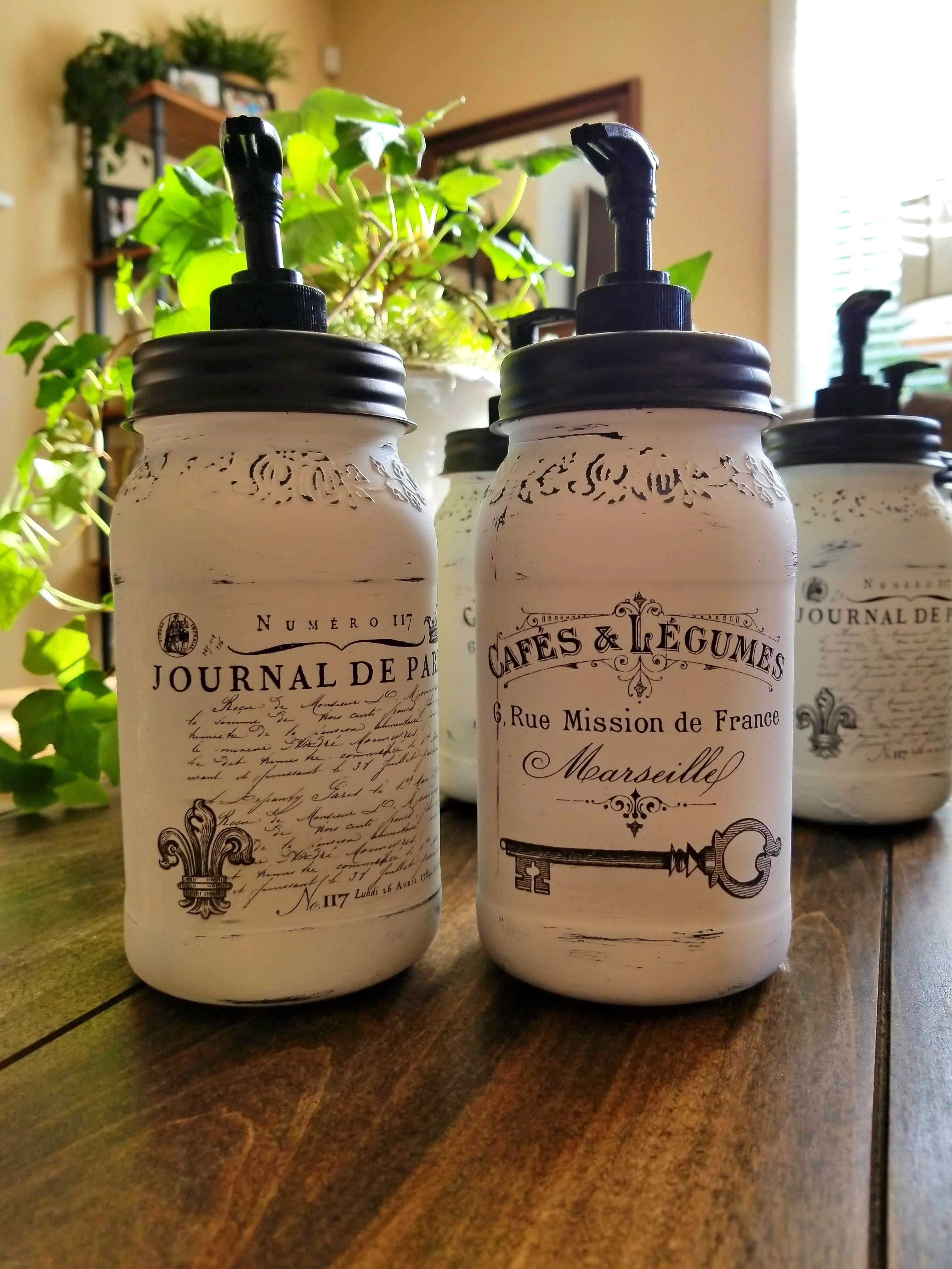 Decorative Jars French Soap Dispenser And Decorative Jars  Reader Feature