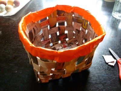 Duct Tape Baskets Collection