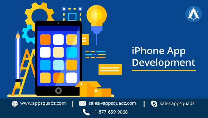 Being a famed iPhone app development company, AppSquadz