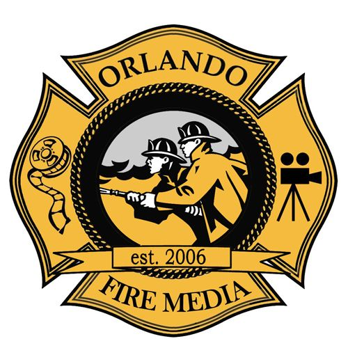 Orlando Fire Department Fire Department Fire Dept Logo Fire Emt