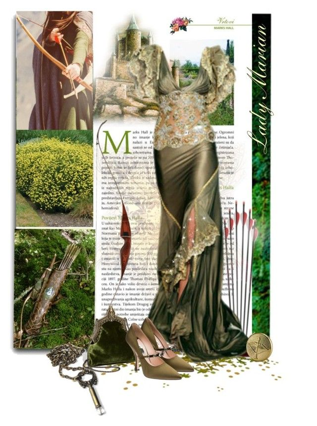 """""""Lady Marian ♪"""" by ccr1 ❤ liked on Polyvore featuring House of Harlow 1960, Miu Miu, Estée Lauder, women's clothing, women, female, woman, misses and juniors"""