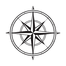 Image Result For Nautical Compass Drawing Png Simple Compass Compass Art Compass Drawing