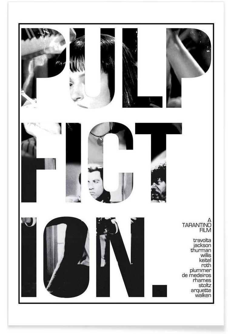 Pulp Fiction VON Mikie Daniel now on JUNIQE!   Poster   Pinterest