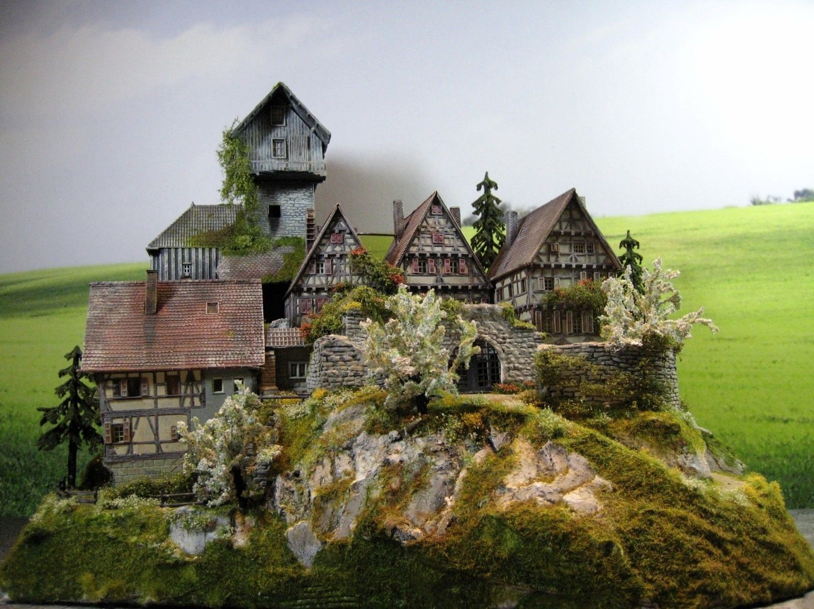 burg festung schloss diorama burg silberstein ebay ch teaux terrain pinterest. Black Bedroom Furniture Sets. Home Design Ideas