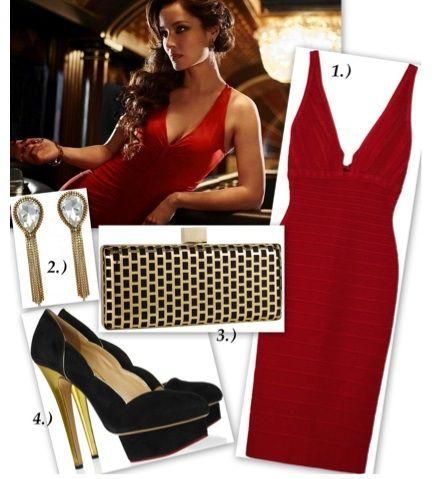 Bond Inspired Fashion Bondgirl Inspirated Fashion Pinterest Ladies Costumes Coffee Break