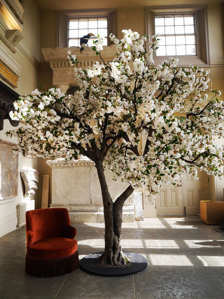 Realistic Indoor Tree Hire From Vowed Amazed Bring The Magic Of Nature To Your Event With Our Fabul Artificial Cherry Blossom Tree Indoor Tree Blossom Trees