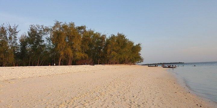 Kendwa Beach, Zanzibar, Tansania