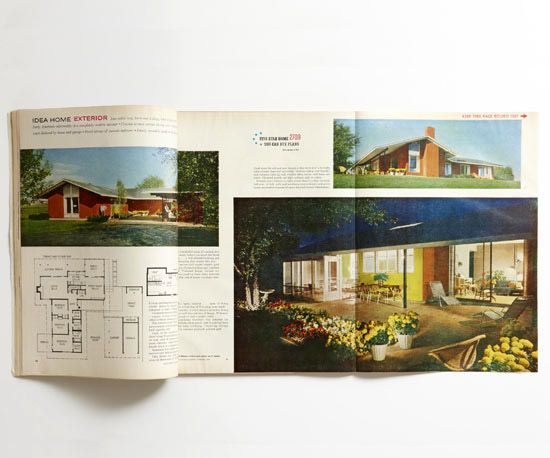 Then Again A 1950s Better Homes Gardens Idea Home Today