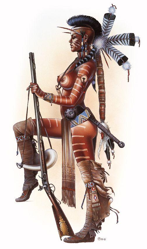 Here. native american hentai but nice