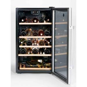 GE, 31Bottle Wine/Beverage Center in Silver, GVS04BDWSS