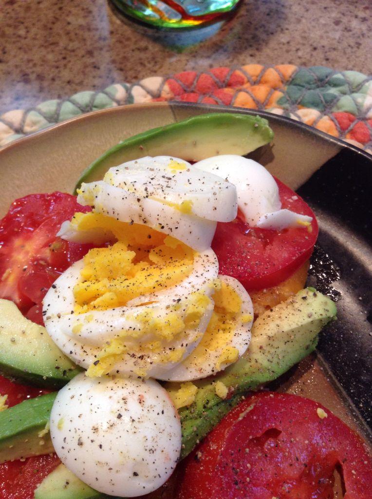 Breakfast Meatless, Caprese salad, Breakfast