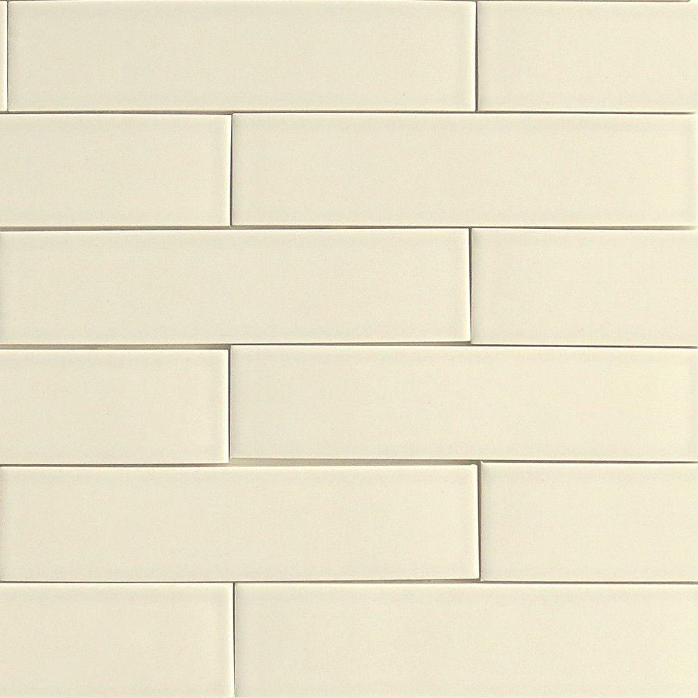 Vellum Cream Subway Ceramic Tile Modwalls Designer Tile Clayhaus Tile Ceramic Tile Colors Ceramic Tiles Tiles