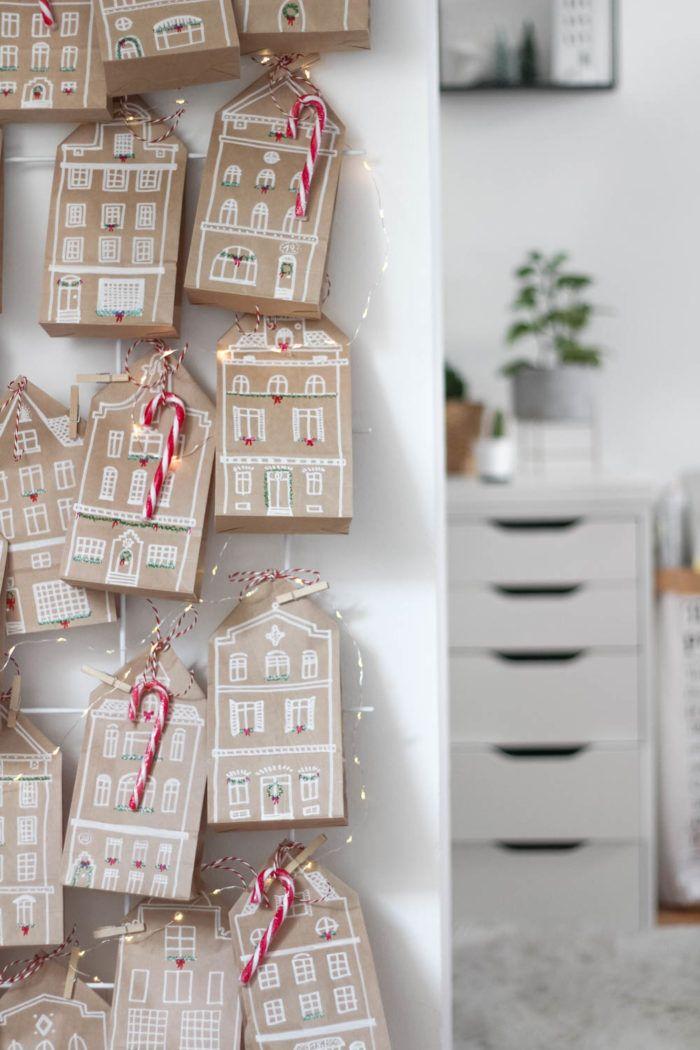 Photo of DIY Adventskalender mit Skandi Häuschen