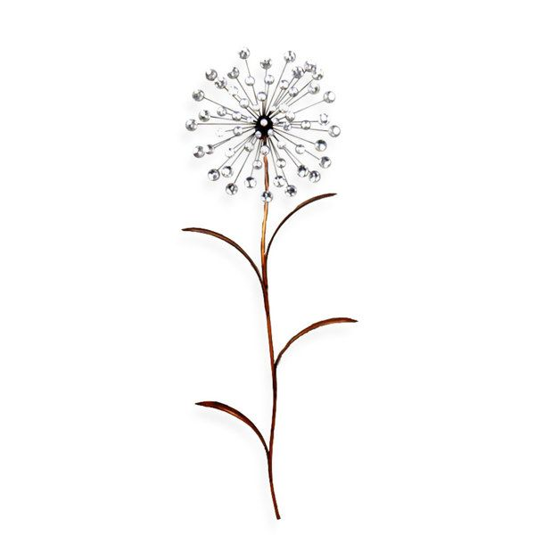 Jeweled Dandelion Wall Art Bed Bath Beyond Neat Idea To Even
