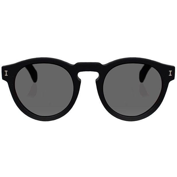 112914c41 Illesteva Leonard Matte Black Sunglasses as seen on Meghan Markle, the  Duchess of Sussex