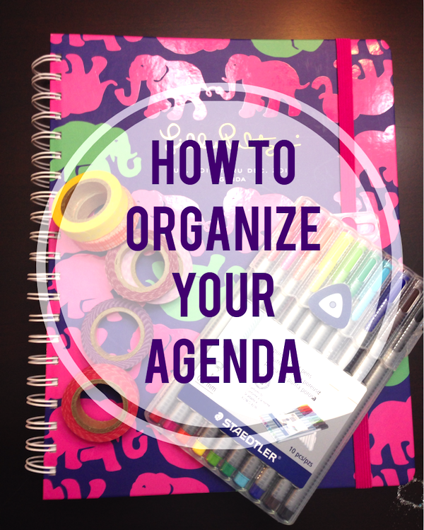 How To Use And Organize Your Lilly Pulitzer Agenda (With