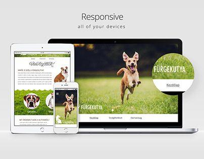 """Check out new work on my @Behance portfolio: """"Fürgekutya webdesign"""" http://be.net/gallery/40418383/Fuergekutya-webdesign"""