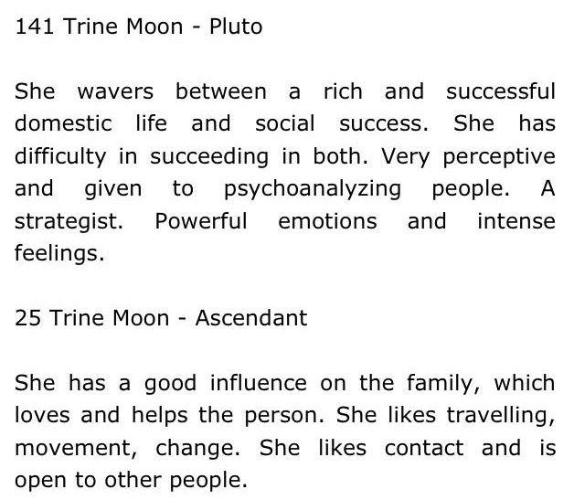 moon trine pluto, moon trine ascendant   lξ♡ p¡§⊂ξ