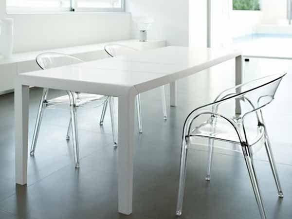 Sedie sintesi ~ Alleggerire un ambiente si può con le sedie trasparenti. ma