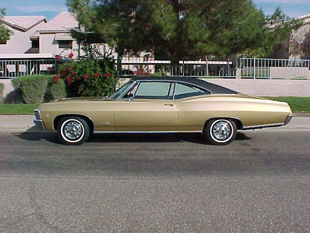 Had A 1968 Gold Black Chevy Impala Wish I Still Had Chevy