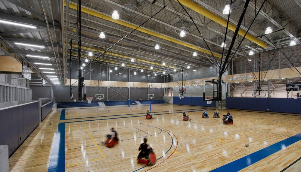 Gallery of sport and fitness center for disabled people