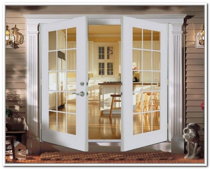 French Doors Exterior Outswing Fiberglass French Doors Pinterest