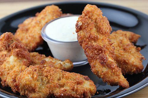 Ranch Chicken Strips Recipe Blogchef Recipe Chicken Strip Recipes Food Recipes