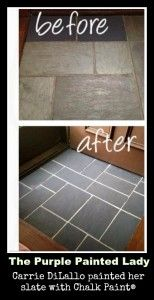 Painting A Linoleum Floor And Painting Tile Floors