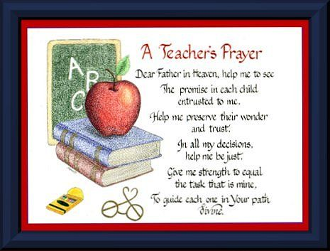 Image result for teacher prayer