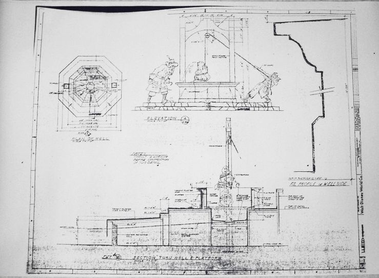 Haunted mansion Ballroom Blueprint Floor Plans Pinterest - new park blueprint maker