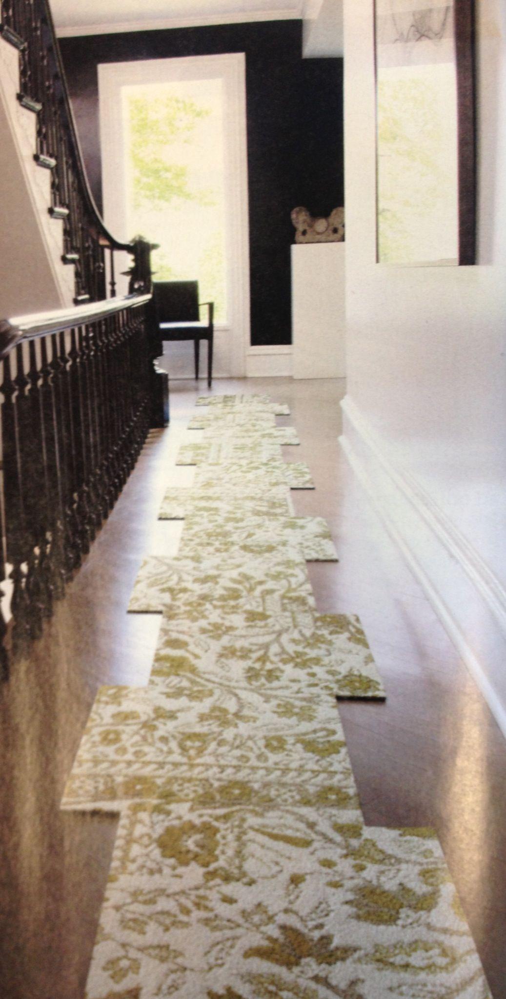Carpet tile runner... Awesome! | Office Ideas | Pinterest | Living ...