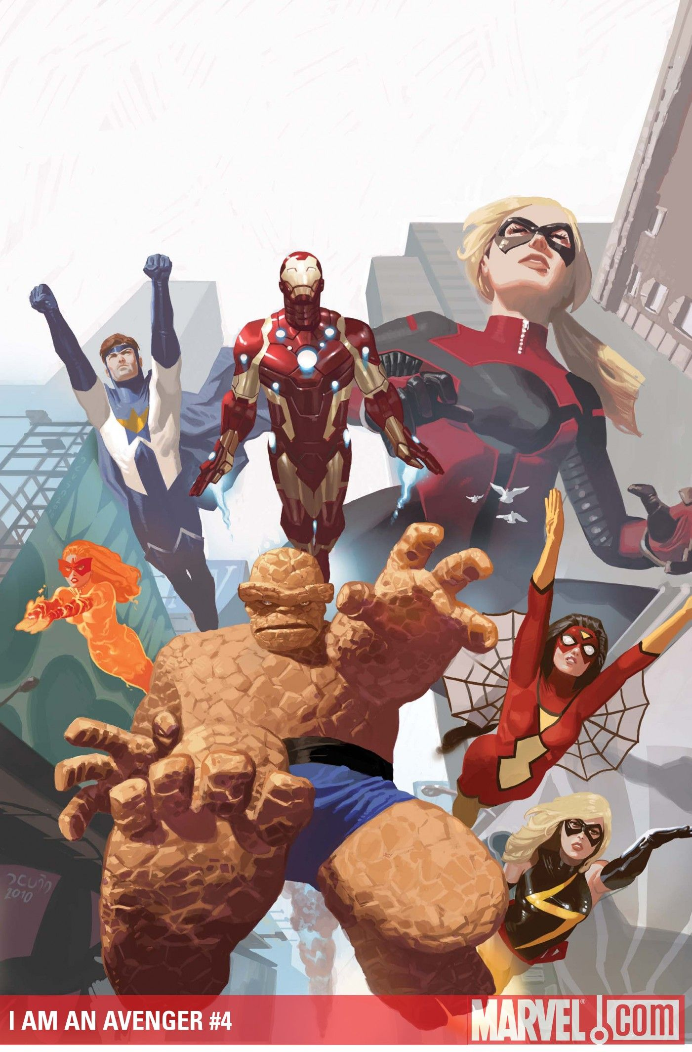 #Avengers #Fan #Art. (I Am An Avenger Vol.1 #4 Cover) By: Daniel Acuna. (THE * 5 * STÅR * ÅWARD * OF: * AW YEAH, IT'S MAJOR ÅWESOMENESS!!!™) ÅÅÅ+